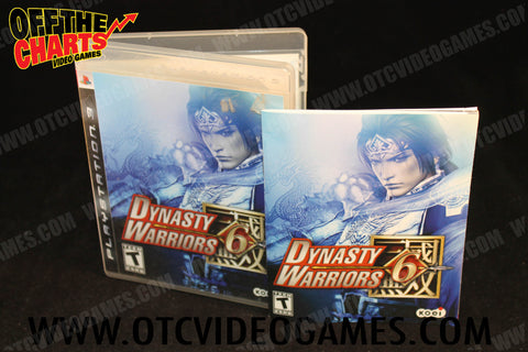 Dynasty Warriors 6 Playstation 3 Game Off the Charts