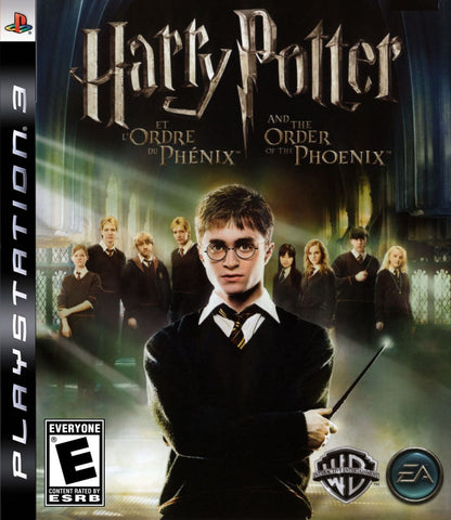 Harry Potter and the Order of the Phoenix Playstation 3 Game Off the Charts