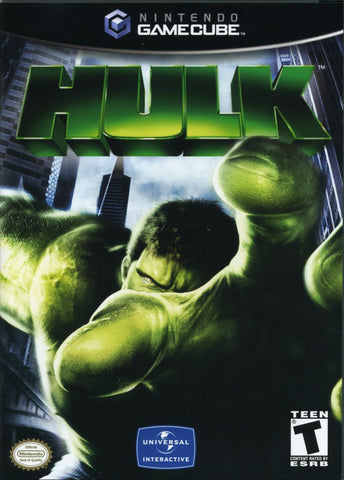 Hulk Nintendo Gamecube Game Off the Charts