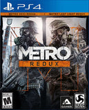 Metro Redux Playstation 4 Game Off the Charts