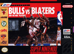 Bulls vs. Blazers and the NBA Playoffs Super Nintendo Game Off the Charts