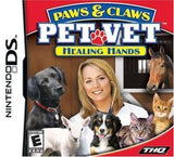 Paws & Claws: Pet Vet Healing Hands Nintendo DS Game Off the Charts