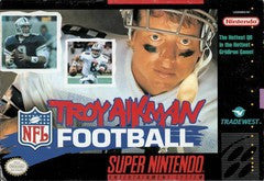 Troy Aikman Football Super Nintendo Game Off the Charts
