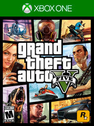 Grand Theft Auto V Xbox One Game Off the Charts