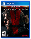 Metal Gear Solid V: The Phantom Pain Playstation 4 Game Off the Charts