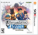 Professor Layton vs. Phoenix Wright: Ace Attorney - Off the Charts Video Games