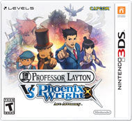 Professor Layton vs. Phoenix Wright: Ace Attorney Nintendo 3DS Game Off the Charts