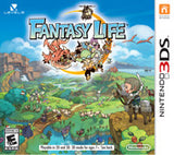 Fantasy Life Nintendo 3DS Game Off the Charts