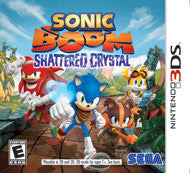 Sonic Boom: Shattered Crystal Nintendo 3DS Game Off the Charts
