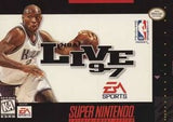 NBA Live '97 Super Nintendo Game Off the Charts