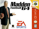 Madden Football 64 - Off the Charts Video Games