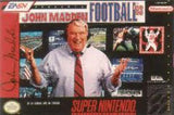 John Madden Football '93 Super Nintendo Game Off the Charts
