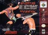 ECW Hardcore Revolution Nintendo 64 Game Off the Charts