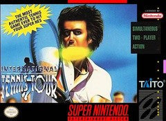 International Tennis Tour Super Nintendo Game Off the Charts