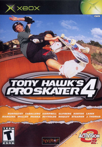 Tony Hawk's Pro Skater 4 - Off the Charts Video Games