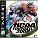 NCAA Football 2000 Playstation Game Off the Charts