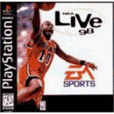 NBA Live 98 Playstation Game Off the Charts