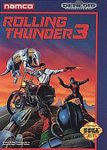 Rolling Thunder 3 Sega Genesis Game Off the Charts