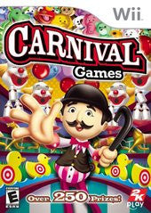 Carnival Games Wii Game Off the Charts