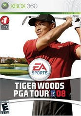 Tiger Woods PGA Tour 08 Xbox 360 Game Off the Charts