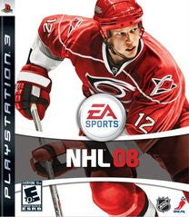 NHL 08 Playstation 3 Game Off the Charts