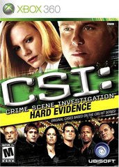 CSI Hard Evidence Xbox 360 Game Off the Charts