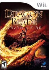 Dragon Blade Wrath of Fire Wii Game Off the Charts