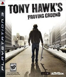 Tony Hawk's Proving Ground Playstation 3 Game Off the Charts