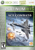 Ace Combat 6: Fires of Liberation Xbox 360 Game Off the Charts