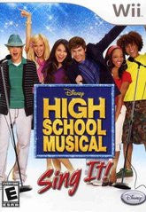 High School Musical Sing It - Off the Charts Video Games