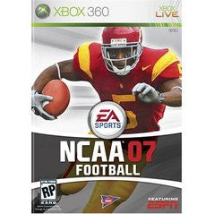 NCAA Football 07 Xbox 360 Game Off the Charts