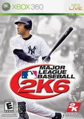 Major League Baseball 2K6 Xbox 360 Game Off the Charts