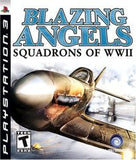 Blazing Angels: Squadrons of WWII Playstation 3 Game Off the Charts