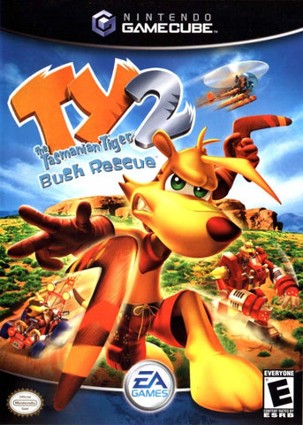 Ty The Tasmanian Tiger 2: Bush Rescue Nintendo Gamecube Game Off the Charts