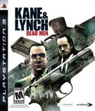 Kane & Lynch Dead Men Playstation 3 Game Off the Charts