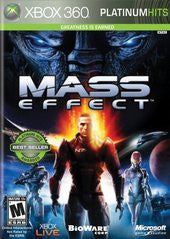 Mass Effect Xbox 360 Game Off the Charts