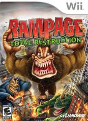 Rampage Total Destruction Wii Game Off the Charts