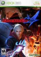Devil May Cry 4 Xbox 360 Game Off the Charts