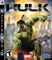 The Incredible Hulk Playstation 3 Game Off the Charts