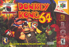Donkey Kong 64 Nintendo 64 Game Off the Charts