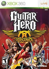 Guitar Hero Aerosmith Xbox 360 Game Off the Charts