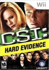 CSI: Hard Evidence Wii Game Off the Charts