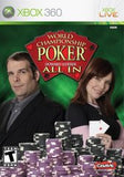 World Championship Poker All In Xbox 360 Game Off the Charts