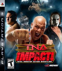 TNA Impact Playstation 3 Game Off the Charts