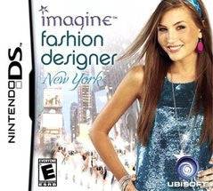 Imagine Fashion Designer New York Nintendo DS Game Off the Charts