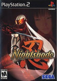 Nightshade Playstation 2 Game Off the Charts