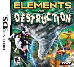 Elements of Destruction Nintendo DS Game Off the Charts
