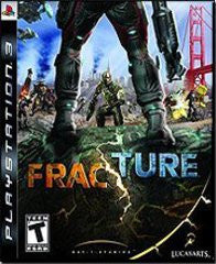 Fracture Playstation 3 Game Off the Charts