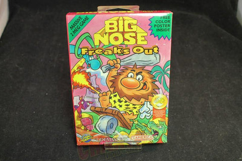 Big Nose Freaks Out New Sealed Nintendo NES Game - Off the Charts Video Games