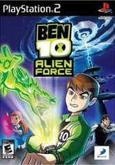 Ben 10 Alien Force Playstation 2 Game Off the Charts